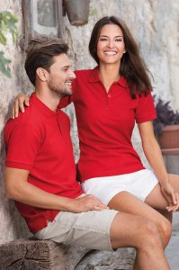 ADLER 216 Damskie polo cotton heavy 220g