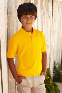 FRUIT OF THE LOOM  Polo Junior 65/35 180g