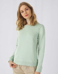 B&C 229.42 Damska bluza Organic Crew Neck French Terry 280g