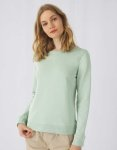 B&C 225.42 Damska bluza Organic Crew Neck French Terry 280g